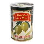 Оливки Maestro De Oliva зеленые супергигантские без косточки, 420г
