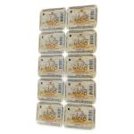 Масло сливочное Маслодел Традиционное 82.5%, 10штх10г