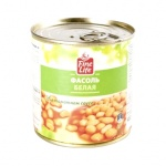 Фасоль Fine Life белая в томатном соусе, 400г