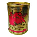 Говядина тушеная Березовский Мк Высший сорт, 338г