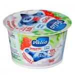 Йогурт Valio Clean Label черника-клубника, 2.6%, 180г