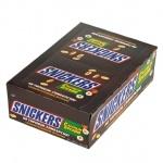 Батончик шоколадный Snickers с лесным орехом, 32шт х 81г