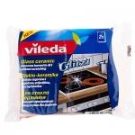 Губка Vileda для стеклокерамических плит, 2 шт/уп
