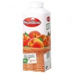 Йогурт питьевой Вкуснотеево 1.5%, персик, 750г