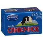 Масло сливочное Экомилк 82.5%, 450 г