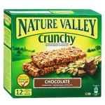 Батончик мюсли Nature Valley, 6шт х 42г, шоколад-яблоко