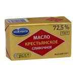 Масло сливочное Экомилк Крестьянское 72.5%, 180г