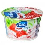 Йогурт Valio Clean Label клубника, 2.6%, 180г