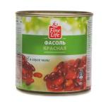 Фасоль Fine Life красная в остром соусе, 400г