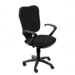 Кресло офисное Бюрократ CH-540AXSN ткань, крестовина пластик, чёрное