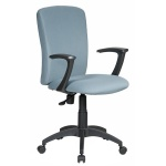 Кресло офисное Бюрократ CH-470AXSN ткань, крестовина пластик, серое
