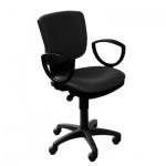 Кресло офисное Бюрократ CH-626AXSN ткань, черная, крестовина хром