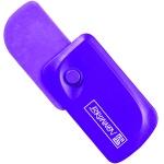 Ластик Brunnen Клик, 5.9х3.3x1.5см, фиолетовый