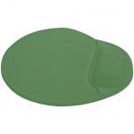 Коврик для мыши Buro светло-зеленый, с гелевой подкладкой