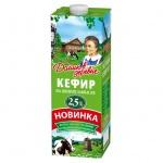 Кефир Домик В Деревне 2.5%, 1л