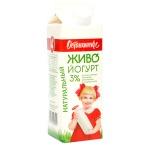 Йогурт питьевой Останкинский Мк 3% натуральный, 500г