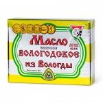 Масло сливочное Из Вологды Вологодское 82.5%, 180г в масленке