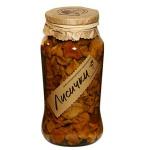 Грибные консервы Таёжный Сбор лисички маринованные, 535г