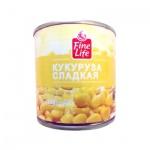 Кукуруза Fine Life сладкая в зернах, 340г