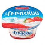Йогурт А-Ля Греческий, 140г, клубника