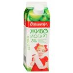 Йогурт питьевой Останкинский Мк 3% яблоко, 500г