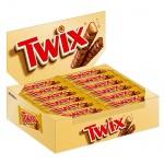 Батончик шоколадный Twix, 40шт х 55г