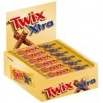Батончик шоколадный Twix Xtra, 24шт х 82г