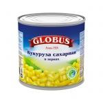 Кукуруза Globus сладкая в зернах, 425мл