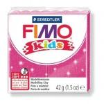 Полимерная глина Fimo Kids блестящая розовая, 42г