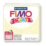 Полимерная глина Fimo Kids перламутровая светло-желтая, 42г