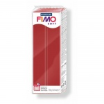 Полимерная глина Fimo Soft рождественский красный, 350г