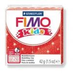 Полимерная глина Fimo Kids блестящая красная, 42г