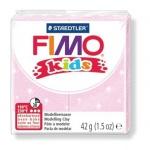 Полимерная глина Fimo Kids перламутровая светло-розовая, 42г