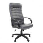 Кресло руководителя Chairman 480LT, крестовина хром, серое