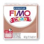 Полимерная глина Fimo Kids светло-коричневая, 42г