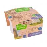 Йогурт Полезные Продукты козий, 4.5%, 100г, черника