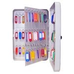 Шкафчик для ключей Shuh Ru KB-120 на 120 ключей, серебристый, 360х250х110мм