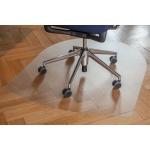 Коврик под кресло Clear Style U-образный 990х1250мм, 2мм, 1119, для гладкой поверхности
