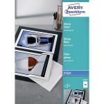 Пленка для печати Avery Zweckform 2507, белая суперглянцевая, 210x297мм, 0.2мм, 50 листов, А4, для струйной печати