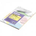 Цветная бумага для принтера Office Space pale mix 5 цветов, А4, 100 листов, 80 г/м2