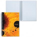 Блокнот Hatber iFresh, А6, 80 листов, мелованный картон, на спирали