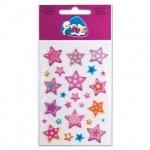 Наклейки декоративные детские Липуня Мягкие воздушные звезды