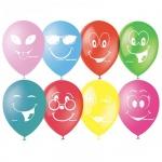 Воздушные шары Поиск улыбки, 30см, 50шт
