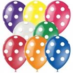 Воздушные шары Поиск горошек, 30см, 25шт
