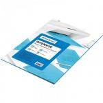 Цветная бумага для принтера Office Space intensive голубая, А4, 50 листов, 80 г/м2