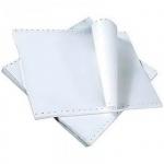 Перфорированная бумага Starless 375х305мм, белизна 96%CIE, 1600шт, с неотрывной перфорацией