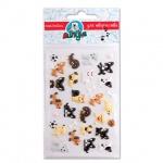 Наклейки декоративные детские Липуня Зефирные собаки