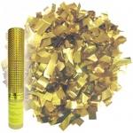 Хлопушка пневматическая Поиск золотое конфети, 30см, в пластиковой тубе