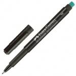 Ручка капиллярная Faber-Castell Multimark черная, 0.6мм, 151399