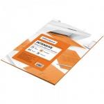 Цветная бумага для принтера Office Space intensive оранжевая, А4, 50 листов, 80 г/м2